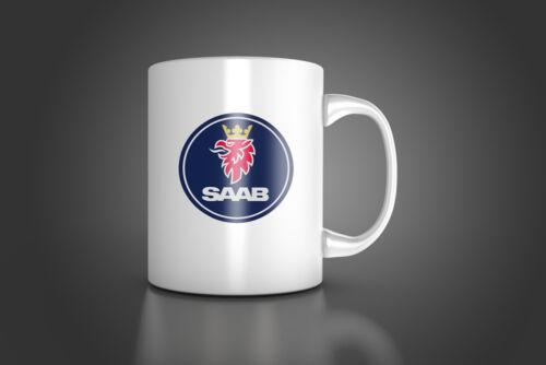 SAAB COFFEE TEA mug for best SAAB FANS by TETI brand SAAB  Mug