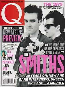 Details about Q MAGAZINE UK February 2014, THE SMITHS, 2014 SPECIAL NEW  ALBUMS PREVIEW