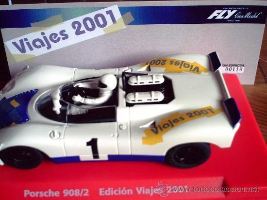 FLY 99168 EDICION SPECIAL TRAVEL 2001 Porsche 908 SLOT 1 32 NEW NEW