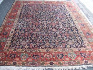 Original Antique Tabriz Persian Rug Carpet 1900 Ebay