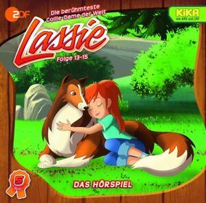 LASSIE-LASSIE-DAS-HORSPIEL-ZUR-NEUEN-SERIE-TEIL-5-FOLGE-13-15-CD-NEU
