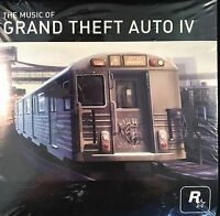 Gta 4 The Music Of Grand Theft Auto Iv Rock Star Games Sealed Cd