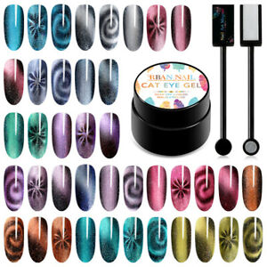 5D-Cat-Eye-Nail-Art-Gel-Polish-Soak-off-UV-LED-Manicure-Varnish-5ml-RBAN-NAIL