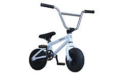New Pro Premium R4 Mini Bmx Bike Jump Stunt Trick Bicycle, WHITE, PEGS INCLUDED