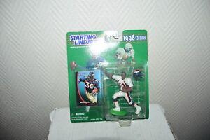 FIGURINE 1998 TERRELL DAVIS BRONCOS DENVER  Starting Lineup Kenner NFL NEUF