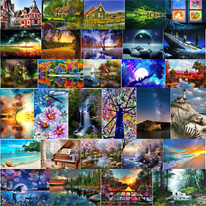 5D-DIY-Full-Drill-Diamond-Painting-Landscape-Cross-Stitch-Embroidery-Mosaic-Kit