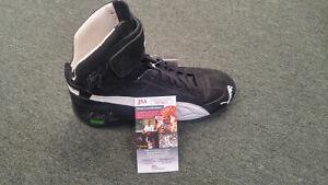 Dale-Earnhardt-Jr-Autographed-Dual-Signed-Martin-Truex-Jr-Team-Issued-Shoe-JSA