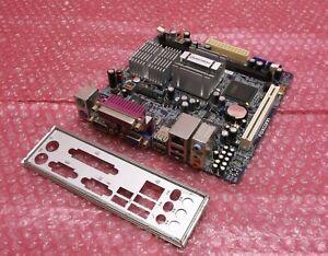 Foxconn-PC-45-CS-Atom-230-Mini-ITX-SFF-VGA-PCI-Carte-mere-du-systeme-et-plaque-arriere