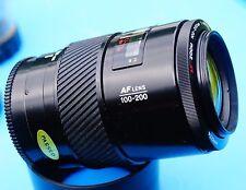 Minolta AF Zoom 100-200mm f4.5 Lens, w.hood tested on sony a99ii sharp copy a77