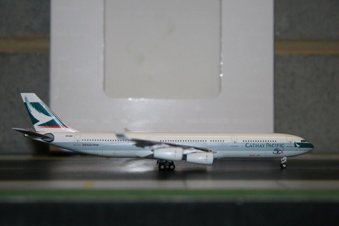 Aeroclassics 1 400 Cathay Pacific Airbus A340-300 VR-HXB (ACVRHXB) RARE