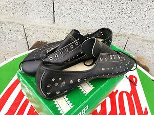 N-O-S-chaussures-CYCLISTE-HUNGA-modele-TOUR-DE-FRANCE-cuir-tail-41-course-pista