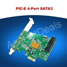 PCI-E SATA3.0 expansion card 4 port SATA3 SATA III 6G Marvell chip