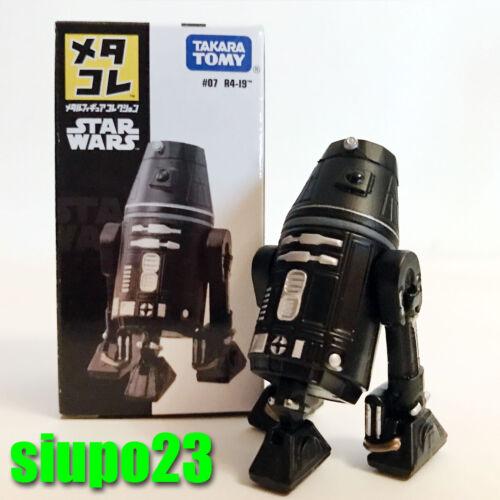Takara TOMY ~ Star Wars #07 R4-19 Mini Figura Metallo