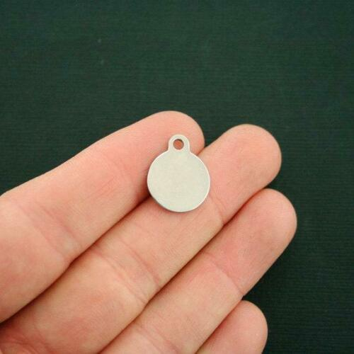 Funny Stainless Steel Charm Smaller Size Love the wine you/'re with BFS3941