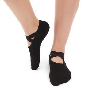Fashion Womens Cotton Socks Yoga Barre Socks Non-Slip Skid Barre Pilates Ballet