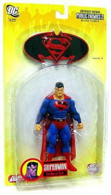DC Direct Future SUPERMAN Series 3 Public Enemies 2 Action Figure *NEW DC Comics