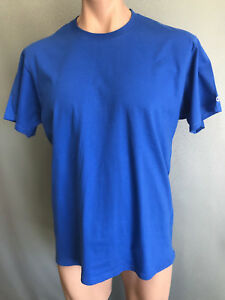 76d996f4 BNWOT Mens Sz 2XL Champion Brand Royal Blue Stretch Short Sleeve T ...
