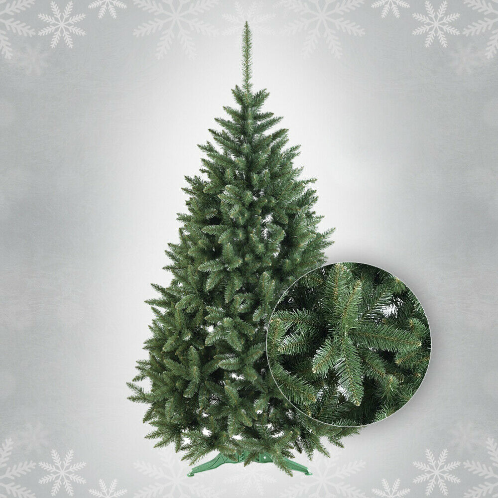 5ft 6ft 7ft Luxury Artificial Christmas Tree with Stand Bushy SPRUCE
