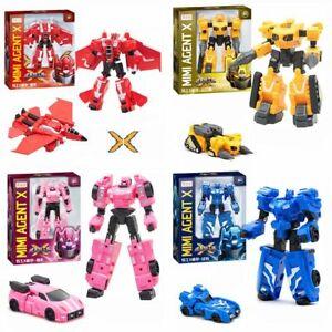 5-Styles-Miniforce-X-Lucybot-Lucy-Bot-Ranger-Transform-Machine-Car-Robot-Toy
