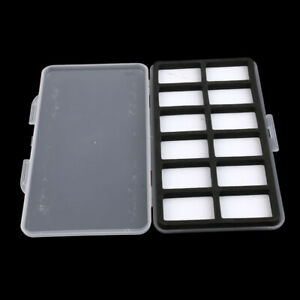 Pocket-Size-Slim-Fishing-Fly-Box-Hooks-Swivels-Flies-Storage-12-Compartments