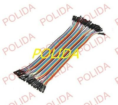 10× 40 root For a row of Dupont Wire 20cm 2.54mm Female to Female 1P-1P (400PCS)