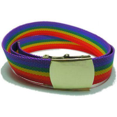 Sieraden En Horloges Lesbian Gay Pride Adjustable Black Leather Bracelet Bangle Rainbow Lgbt Inserciona