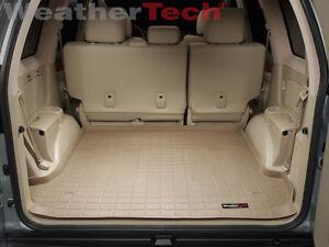 WeatherTech Custom Fit Rear FloorLiner for Lexus GX470 Tan
