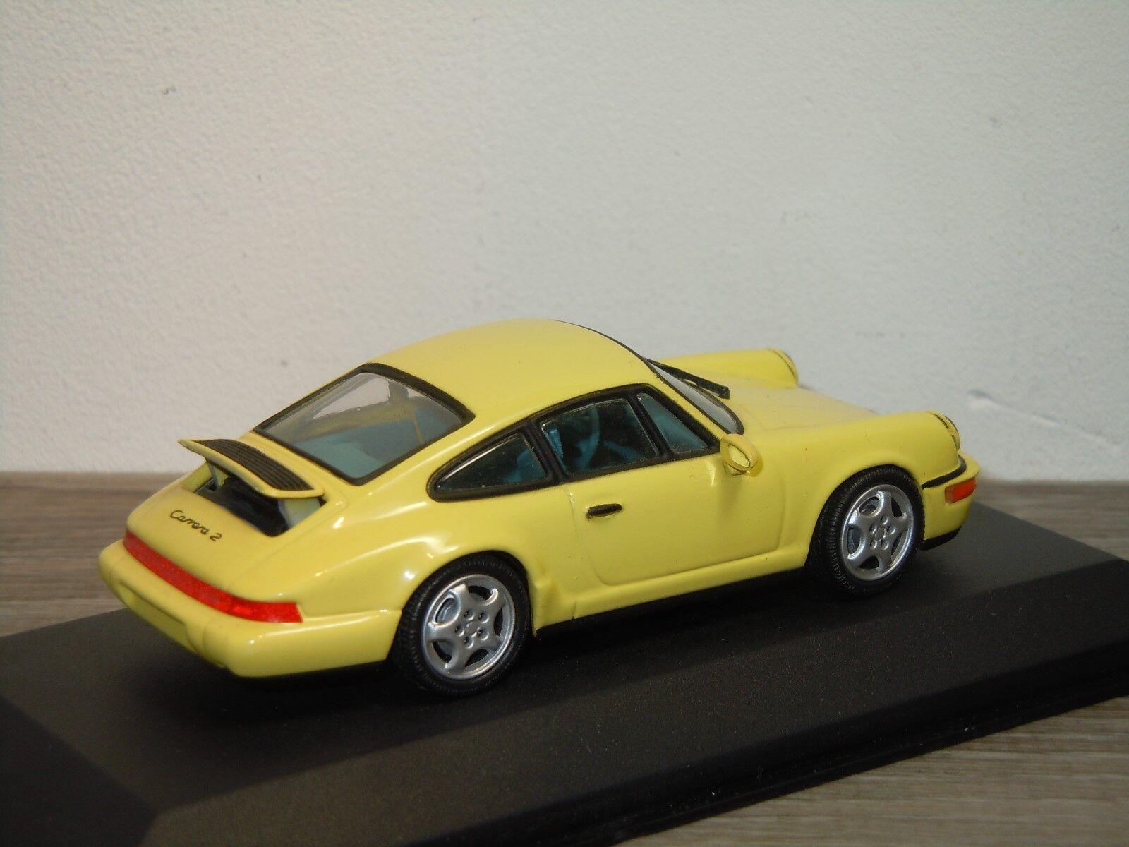 Porsche 911 964 Carrera 2 4 1992 - - - Minichamps 1 43 in Box 34068 9abf9a