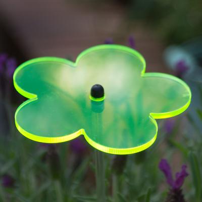 Cim Sonnenfänger Sundancer Blume 80 Grün Wetterfest Lichtreflektierend Deko Der