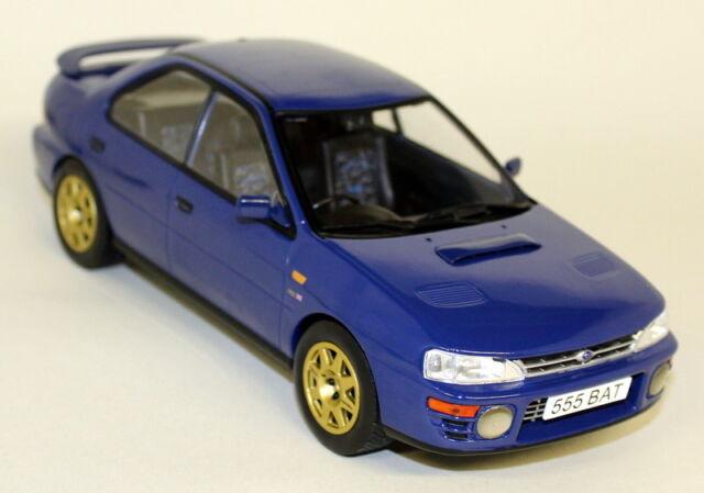 Subaru Impreza WRX RHD 1995  blau 1:18 IXO   />/>NEW/</<