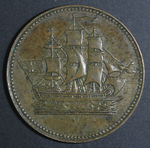 Prince-Edward-Island-Ships-Colonies-amp-Commerce-Half-Penny-Token-BR997-CH-PE10-24