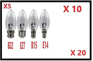 5-20-Eveready-Eco-De-Ahorro-De-Energia-Bombillas-Vela-E14-B22-E27-B15-20w-30w-46w