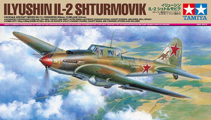 Tamiya 1 48 Ilyushin IL-2 Shturmovik