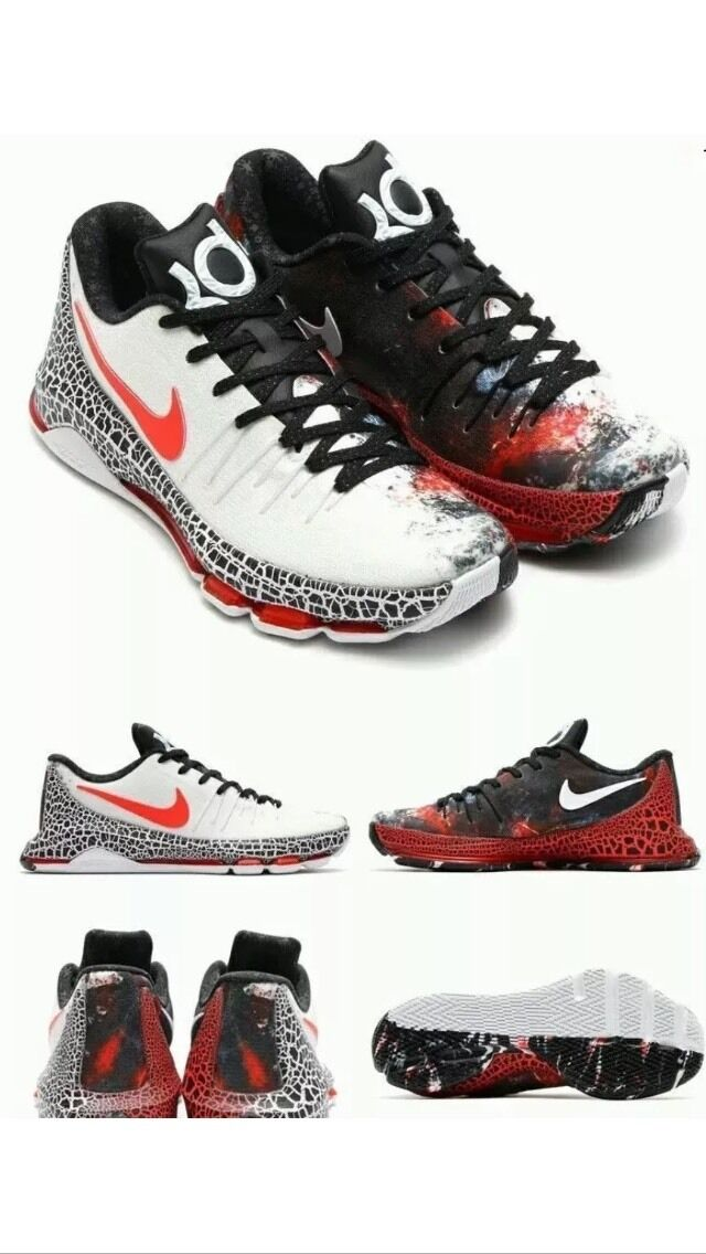 Nike kd (kevin durant), 8 edizione natalizia - misura 10 al pennino 822948-106 200 dollari al 10 minuto 716aea