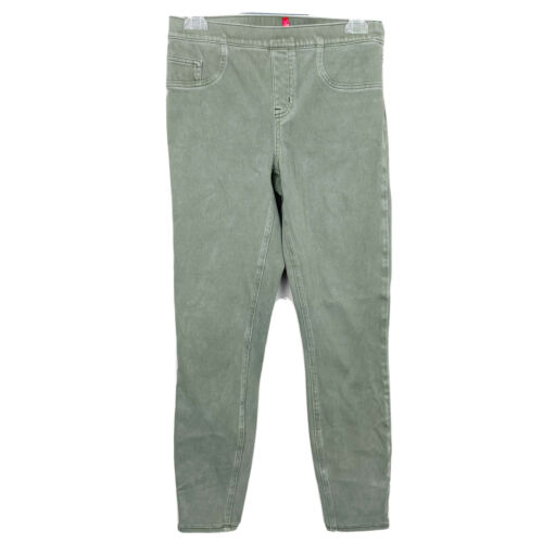 SPANX Green Jean Leggings Size Medium
