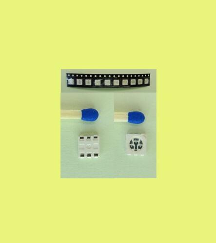 6 numero di pezzi selezionabile 10 COLORI RGB SMD LED 5050 Red 3 Chip SOP