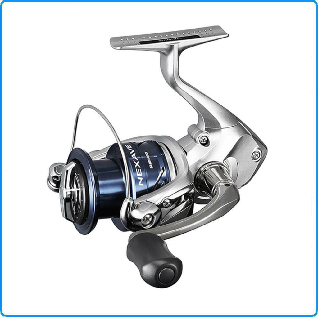 FISHING REEL SHIMANO Nexave4000FE SEA ​​FISHING SPINNING BOLENTINO EGING TROUT