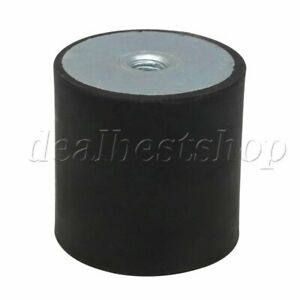50x50mm-M10-Thread-Female-Rubber-Mount-Isolator-for-Electronic-Equipment