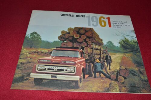 Chevrolet C /& L 50 60 /& 60-H Truck For 1961 Dealer/'s Brochure YABE15