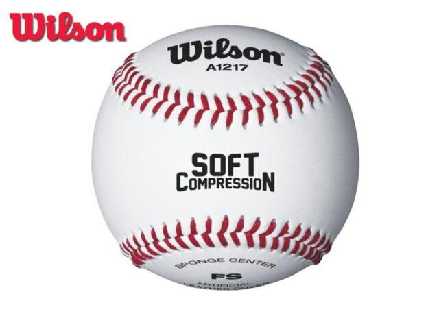 Nuevo Wilson 2018 - Suave compresión Level 1 baseball- Paquete De 12 d63413cd1bbf8