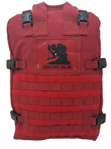 ELITE FIRST AID Stomp Medical Kit STOCKED Trauma Advanced Medical Care RED