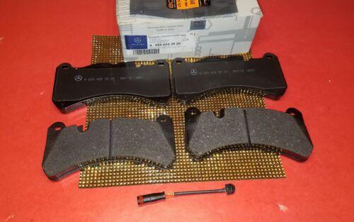 Mercedes Front Brake Pad Set+Sensor 05-11 CLK55 CLK63 SLK55 GENUINE 0054203920