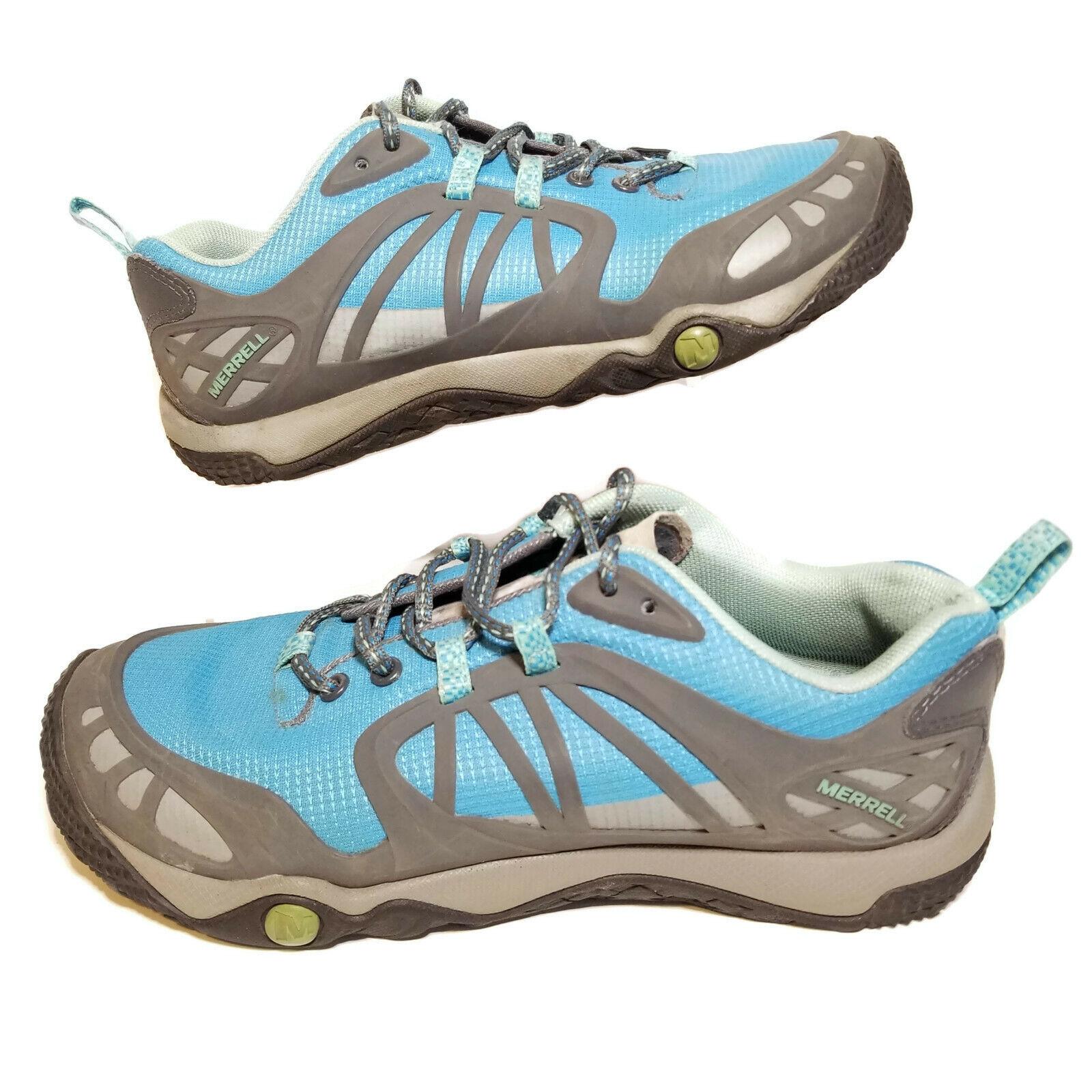 Merrell Womens 8 Sea Shore shoes bluee Grey Hiking Prederra Vim Sport J57258 0027d0d5c88