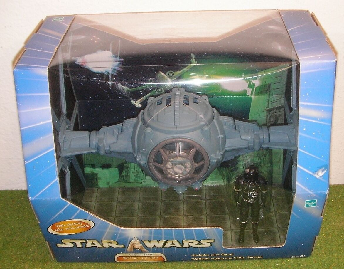 STAR WARS SAGA Blau A NEW HOPE IMPERIAL DOGFIGHT TIE FIGHTER