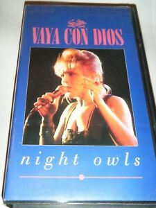 VHS-VAYA-CON-DIOS-Talking-Backstage-amp-7-full-length-Videoclips