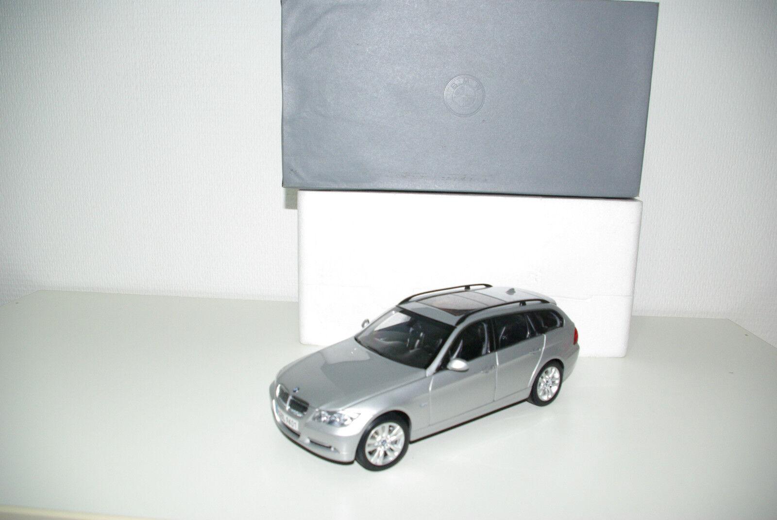 KYOSHO BMW 330i 330 Touring METALLIC grigio Dealer Edition MINT BOXED RARE RARO