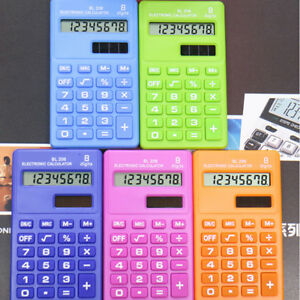 KQ-Candy-8-Digits-Pocket-Mini-Electronic-Calculator-Students-Office-Supplies-Ea