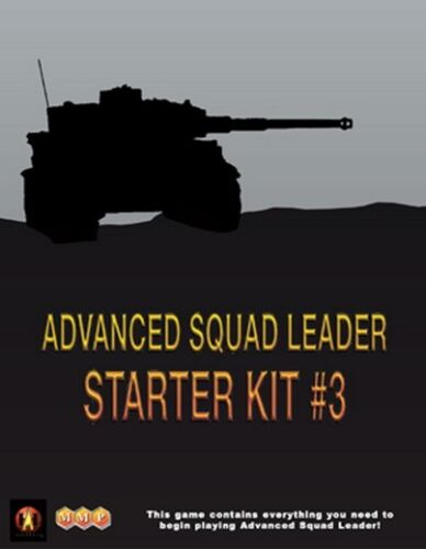 Wargame Advanced Squad Leader ASL Starter Kit #3 New by MMP Tanks English