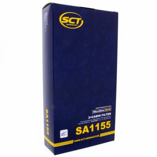 SCT Innenraumfilter Luftfilter SA 1155 Pollenfilter Luft Filter