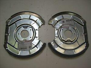 Ankerblech-Spritzblech-Hitzeschutzblech-Satz-vorne-VW-Kaefer-1302-1303-Bj-70-79